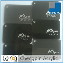 china factory direct sale transparent black acrylic sheets