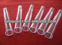 the back cover of transparent clear quartz glass tube or Spiral Quartz Glass Tube