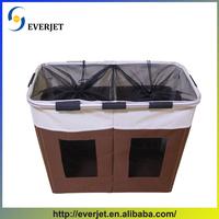 Hot selling foldable polyester laundry bag large home storage basket