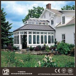 Cheap Prefabricated Aluminum Glass Room Outdoor Garden Rooms