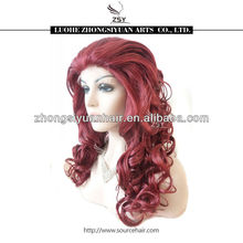 ZSY 2014 most popular best selling wholesale synthetic lace front bangs wigs