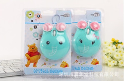 So cute cartoon shape mouse the special design animal computer mouse