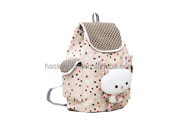 Gros Unique Animal mignon sac d'école, Pas cher toile enfants sac à dos