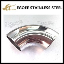 Polish 90 degree stainless steel elbow joint 304 304l 316 316l
