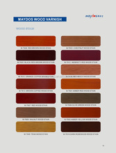 home decoration wood color stain