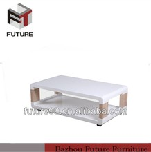 European wood slab coffee tables