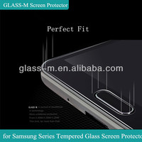 Perfect Fit GLASS-M Diamond Tempered Glass Screen Case Cover For Samsung Galaxy S4