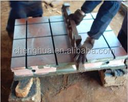 Rib Type Or Case Type Power Engine Experiment Cast Iron machine base table