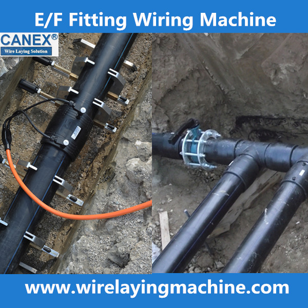 Electrofusion pad wire laying ppr machine