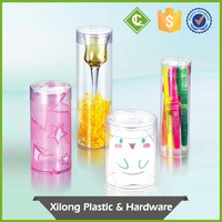 top seller Customized pvc cylinder packaging box