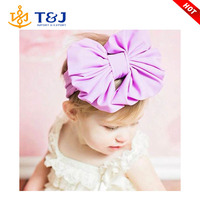 >>Newest Design Bowknot Flower Mix Color Fabric Baby Hair Holder Headdress /Baby Hair bands/