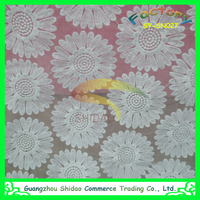 custom hot sale white cotton milk silk floral bridal lace fabric wholesale,lace fabric wholesale