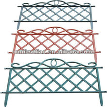 decorative plastic garden fence/firm and colorful plastic mesh fence