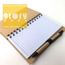 CLASSMATE NOTEBOOK WITH PEN INSIDE AND MEMO PAD