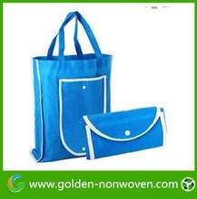Free sample Customize Foldable bag made of fabric bag ,non woven fabric bag factory sale ,tnt woven bag made in China