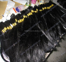 2015 newest!wholesale top quality Chinese human virgin straight hair bulk accept paypal