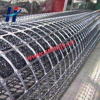 PP Biaxial geogrid used in road reinforcement