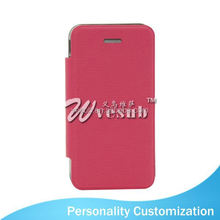 2015 fashion leather wallet phone Case Sublimation Blank newest design 2d 2in1 tpu+pc sublimation phone case For Iphone 4