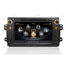 dvd gps navigation system with 8 inch HD touch screen bluetooth ipod for Suzuki SX-4