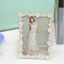 New style glass 7 inch photo frame for wedding gifts