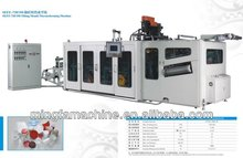 Tilting Mould plastic cup thermoforming machine