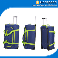 Sport Trolley Bag Carry Clothing Duffel Travel Bag with trolley