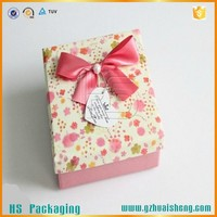 Eco-Friendly High Quality Custom Logo Printing with wire decorative christmas boxes