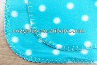 2013 shaoxing top 10 Fleece Blanket 100% Polyester Fabric for knitted women winter hat and scarf set