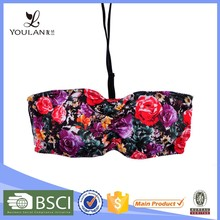 romantic colorful adjustable thin sexy cut out bra