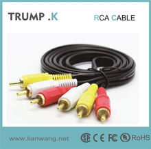 male to male reproductor DVD cable making equipment