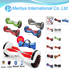 Smart Self Balancing Electric Hoverboard Scooter 8 inch Bluetooth speaker electric scooter