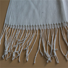 Viscose and Mercerize Wool Material Scarf Asia Manufacturer