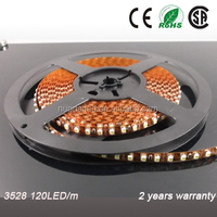 China factory supply 7-8LM/LED 12/24VDC 5m 600leds SMD3528 LED strip light IP20/IP65/IP68 LED flexible strip light