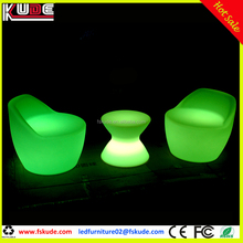 illuminated LED lounge furniture for outdoor event lighting