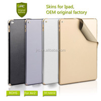Original factory high quality 3M material skins sticker protector for iPad Air 2