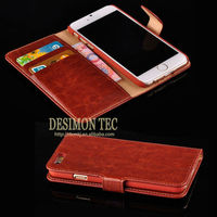 OEM luxury quilted wholesale cell phone case leather with card holder