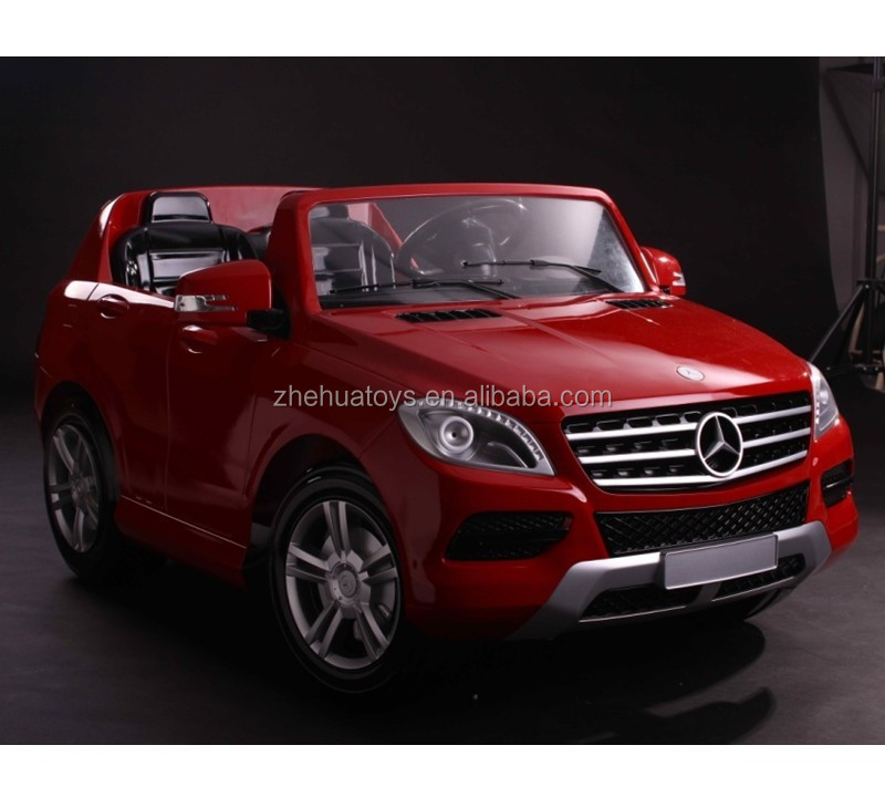 Newest 12volt licensed ride on car mercedes benz ml350 toy for Mercedes benz electric car for kids