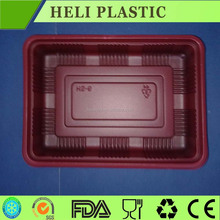 Biodegarable plastic food pack with containers