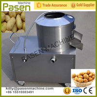 Large capacity stainless steel potato washing&peeling machine / sweet potato peeling machine