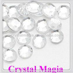 Crystal flat back No hotfix rhinestone