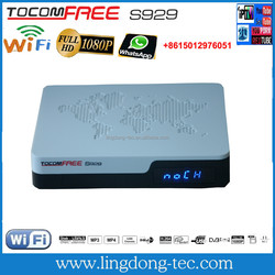 satellite receiver Tocomfree S929 with iks sks free for chile
