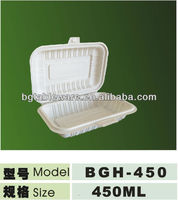 disposable biodegradable plastic tableware lunch box