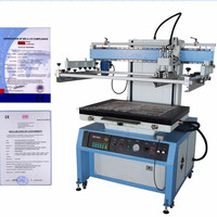 LC-6090P Large Printing Area Printer and Up-down Stroke Electric Plane Surface Screen Printing Machine