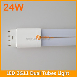 542mm 2g11 led 24w, 6000K-6500K, built-in driver 85-265VAC, replace cfl lamp