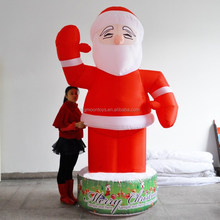 Hotsale Christmas Inflatables, Santa On John Deere Model A Tractor Christmas inflatable