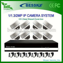 8 Channel NVR KIT,home security hd audio onvif camera,security camera for import