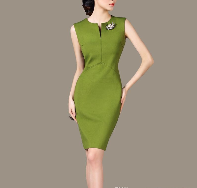 Popular Work Dresses For Women Work Clothes For Women Dress Suits Skirt Suit