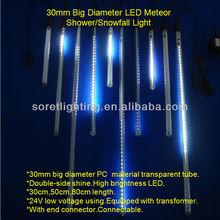 2015 New SMD LED Snowfall Light .led meteor rain light. led rain drop light