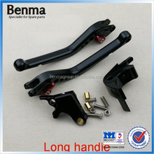 racing motorcycle brake and clutch lever
