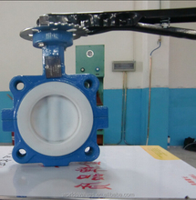 square face two body risilent seated wafer butterfly valve